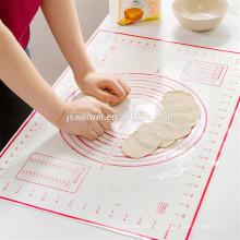 Tapis plat de silicone de feuille de traitement au four