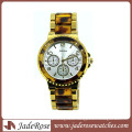 Trendy Wrist Watch Quartz Movt Fashion Silicone Alloy Watch