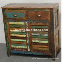 recycle wood sideboard cabinet