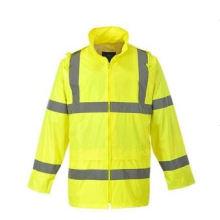 Warnschutzjacke aus 100% Polyester Oxford Gewebe En / ANSI