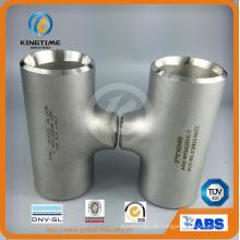 Acero inoxidable reducir Tee Wp304 / 304L tubería con Ce (KT0035)