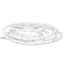 Hot sell specification 3 strand good breaking strength multicolor braid polypropylene rope