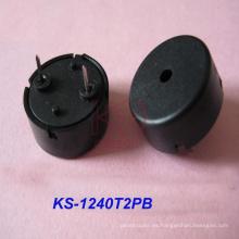 Alta temperatura electromagnética de 12 mm fuera activa Peizo Ceramic Buzzer