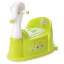 Duck Shape Plastic Baby Toilet Trainer