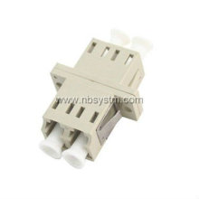 LC/pc Multimode duplex flange adapter