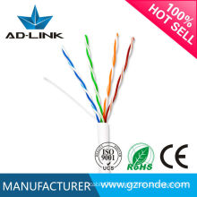 high speed 350MHz blue white grey color pass FLUKE and REACH test utp network cables cat5e