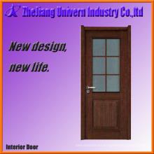 Puerta de chapa de madera laminada
