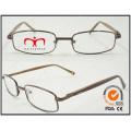 Neue Art und Weise Eyewear Rahmen-Metall optischer Rahmen (WFM501001)