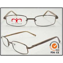 Lunette de mode nouvelle forme cadre métallique optique (WFM501001)