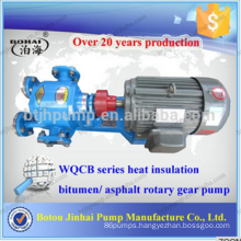 High temperature gear rotary pumps Steam jacket pumps Tar oil pump