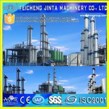 Trois colonnes Équipement de distillation à trois effets Alcool / Ethanol Fabricant