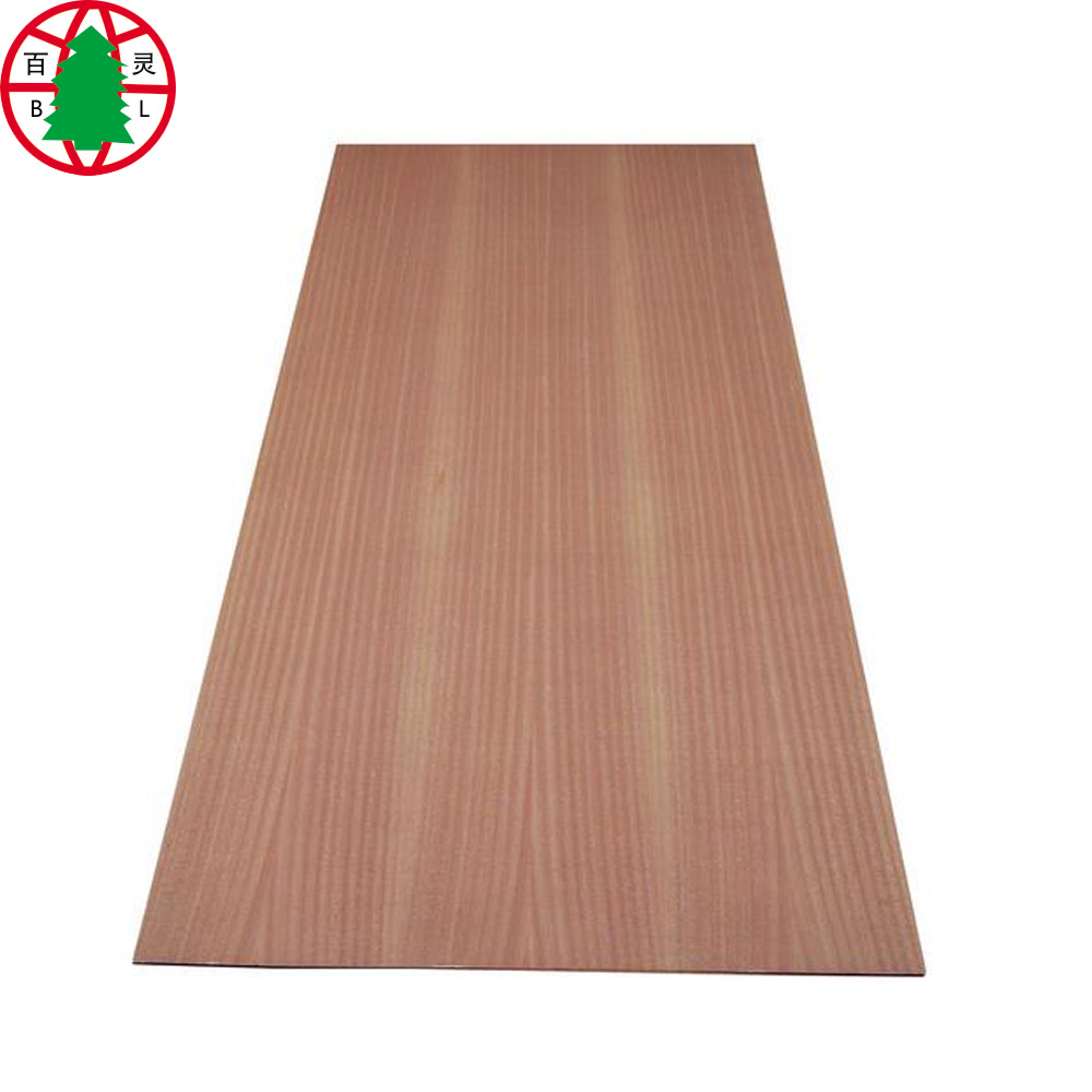 sapele veneer particleboard for doors and cabinet
