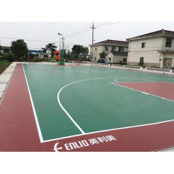 Outdoor PVC Sportboden Basketballboden