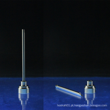 2-Piece titânio Carb Cap para 14 milímetros 10mm Domeless pregos (ES-TN-005)
