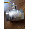 3-4 Inch Brass Control Ball Valve with Iron Handle (YD-1021-2)