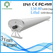 IP65 High Lumens 1200mm 40W Tri-Proof LED Light