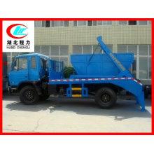 Dongfeng brazo oscilante camión de basura