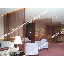 rideau de salle décorative