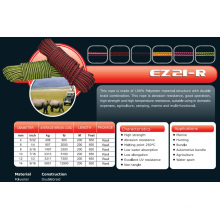 "1/2""X650′ Ez 21-R Ropes for Camping/Hunting/Bundle/Agriculture"