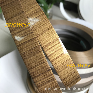 High Gloss Wood PVC Edge Banding