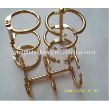 China supplier eco-friendly and high-quality 3 ring binder connecting ring hardware