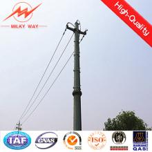10m 1000dan Conical Galvanized Steel Pole