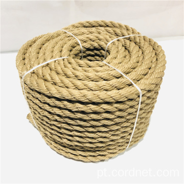 Corda Multifilament do amarelo PP Twist Twist