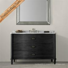 Hot Sale European Style Wood Cabinet de salle de bains