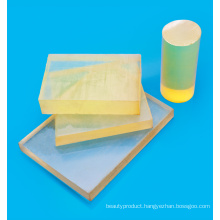 Soft engineering plastic plate PU