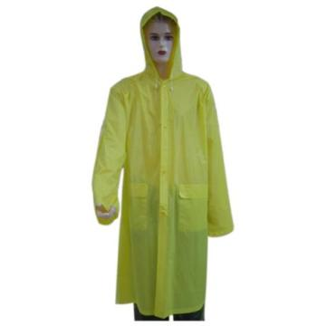 Yellow Plastic eva Rainwear