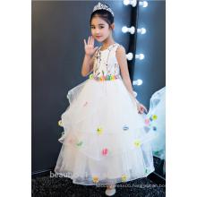 1-6 years old baby girl dress flower girl dress scoop neckline sleeveless baby dresses ED752