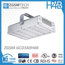 Luz alta industrial da baía do armazém da iluminação da eficiência alta impermeável do lúmen 160W do diodo emissor de luz