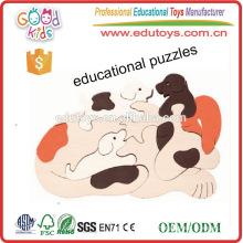 Nagelneue frühe Kindheit lernende Spielwaren hölzerne Kinder pädagogisches Puzzlespiel