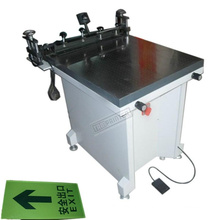 Machine manuelle d'impression d'écran en verre de presse de Tam-6080s