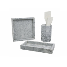 Square marble tray D30cm Decorative Serving Tray