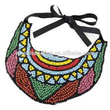 Дизайны ожерелий из экзотических этнических бусин
