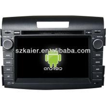 leitor de dvd do carro para o sistema Android 2012 Honda CRV