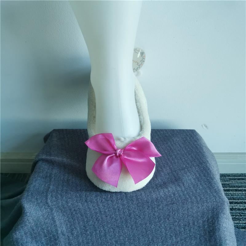 Bowknot Slippers Socks