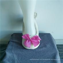 Sweet Princess Polyester Bowknot Pantuflas Calcetines