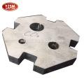 Toute forme de plaque d'acier de coupe