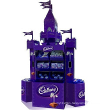 Chocolate Cardboard Retail Display