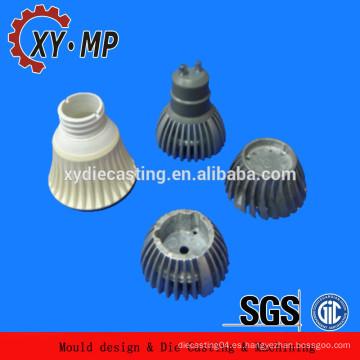 Fundición de aluminio LED disipador de calor para farola LED ADC12 disipador de calor