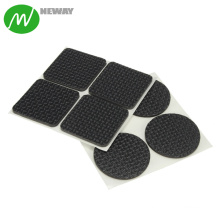 Square Back Self Adhesive Silicone Feet Pads
