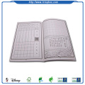 School stationery recycled printed notebook