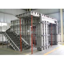 Sistema de Encofrado de Aluminio de Pared de Concreto