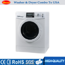 Lavadora y secadora automáticas de 7 kg de tamaño de apartamento, todo en uno