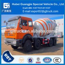Precio concreto del camión del mezclador concreto del precio del camión del mezclador concreto de 8 metros cúbicos en la India