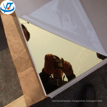 4'x8' gold mirror stainless steel sheet 304 manufacture price