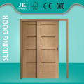 JHK 4 Panel Shaker Door Solid Wood Panel Design