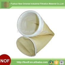Acrylic dust filter bag/AC Pulse jet bag with PTFE membrane for Industrial Filtration